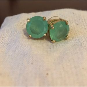 Kate spade turquoise gumdrop studs